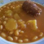 Potaje de Judias Blancas con Chorizo